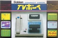 Gakken Compact Vision TV Boy Box Art