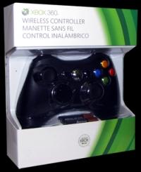Xbox 360 Wireless Controller - (Black Slim) Box Art