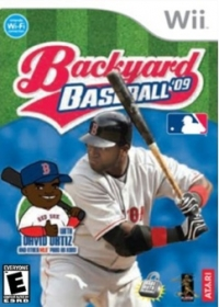 Backyard Baseball '09 Box Art