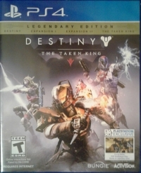 Destiny: The Taken King - Legendary Edition Box Art