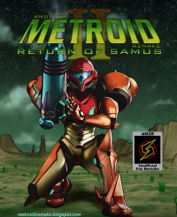 Another Metroid 2 Remake Box Art