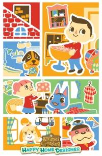 Animal Crossing: Happy Home Designer poster Box Art
