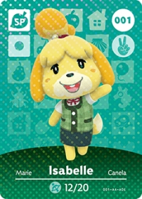 Animal Crossing - #001 Isabelle  [NA] Box Art