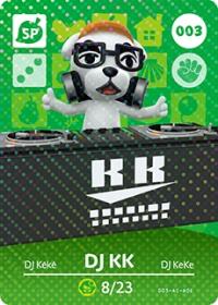 Animal Crossing - #003 DJ KK  [NA] Box Art