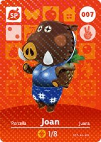 Animal Crossing - #007 Joan  [NA] Box Art