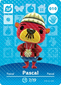Animal Crossing - #010 Pascal  [NA] Box Art
