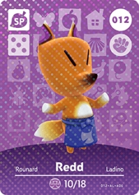 Animal Crossing - #012 Redd  [NA] Box Art
