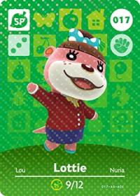 Animal Crossing - #017 Lottie  [NA] Box Art