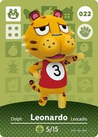 Animal Crossing - #022 Leonardo  [NA] Box Art