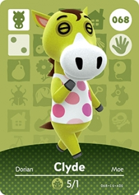 Animal Crossing - #068 Clyde  [NA] Box Art
