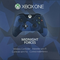 Xbox One Wireless Controller - Midnight Forces Special Edition Box Art