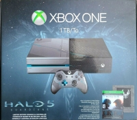 Microsoft Xbox One 1TB - Halo 5: Guardians [NA] Box Art