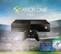 Microsoft Xbox One 1TB - Madden NFL 16 [NA] Box Art