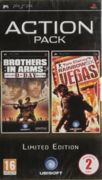 Action Pack: Brothers In Arms: D-Day + Tom Clancy's Rainbow Six: Vegas - Limited Edition [PL] Box Art