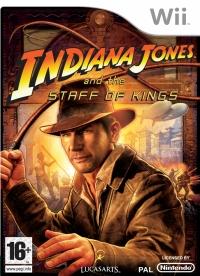 Indiana Jones and the Staff of Kings Box Art