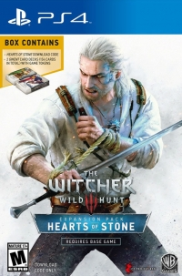 Witcher 3, The: Wild Hunt: Hearts of Stone - Expansion Pack Box Art