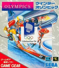 Winter Olympics Box Art