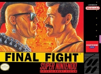 Final Fight Box Art