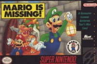 Mario is Missing! Box Art