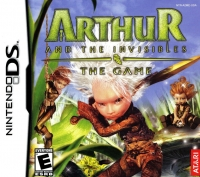 Arthur and the Invisibles: The Game Box Art