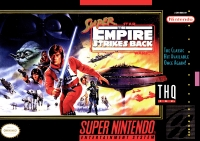 Super Star Wars: The Empire Strikes Back (THQ) Box Art