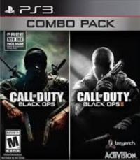 Call of Duty:  Black Ops / Black Ops II Combo Pack Box Art