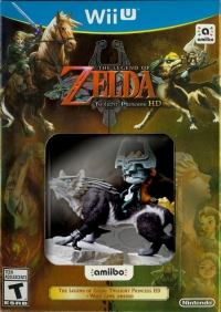 Legend of Zelda, The: Twilight Princess HD + Wolf Link amiibo Box Art