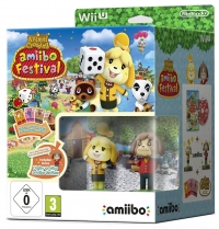 Animal Crossing: amiibo Festival (Isabelle and Digby amiibo) Box Art