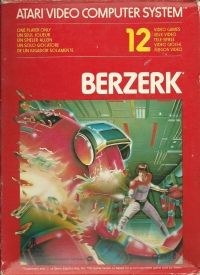 Berzerk Box Art