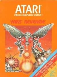 Yars' Revenge (Picture Label) Box Art