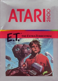 E.T. The Extra Terrestrial Box Art