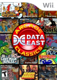 Data East Arcade Classics Box Art