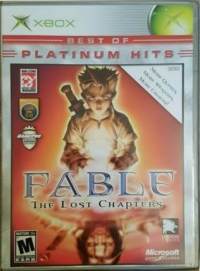Fable: The Lost Chapters - Best of Platinum Hits Box Art