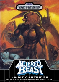 Altered Beast (Made in Taiwan) Box Art