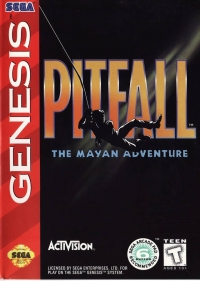 Pitfall: The Mayan Adventure Box Art