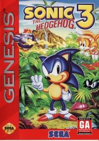 Sonic the Hedgehog 3 Box Art