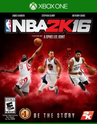 NBA 2K16 Box Art