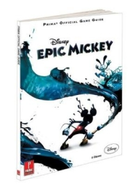 Disney Epic Mickey - Prima Official Game Guide Box Art