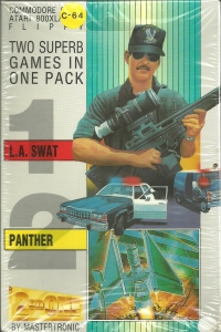 2 on One: L.A.SWAT / Panther Box Art