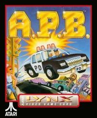 A.P.B. Box Art