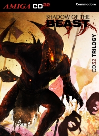 Shadow of the Beast Trilogy Box Art