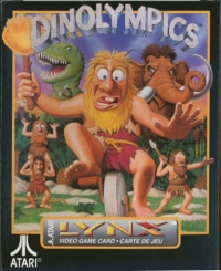 Dinolympics Box Art