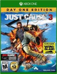 Just Cause 3 - Day One Edition Box Art