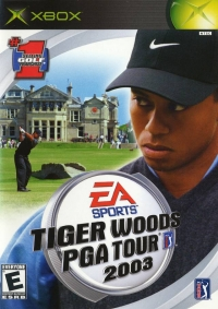 Tiger Woods PGA Tour 2003 Box Art