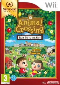 Animal Crossing: Let's go to the City - Nintendo Selects Box Art
