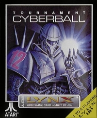 Tournament Cyberball 2072 Box Art