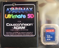 Atarimax ColecoVision Ultimate SD Multi-Cart Box Art