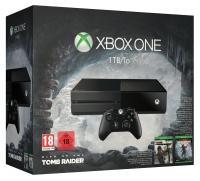 Microsoft Xbox One 1TB - Rise of the Tomb Raider / Tomb Raider: Definitive Edition [EU] Box Art