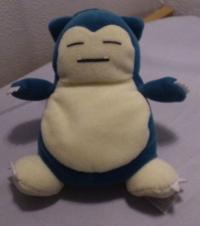 1999 Snorlax Pokémon Plush - Hasbro Box Art