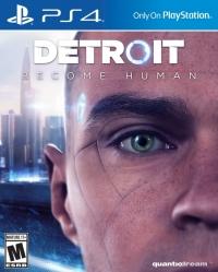 Detroit: Become Human Box Art